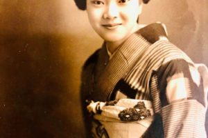 母きよの若かりし頃